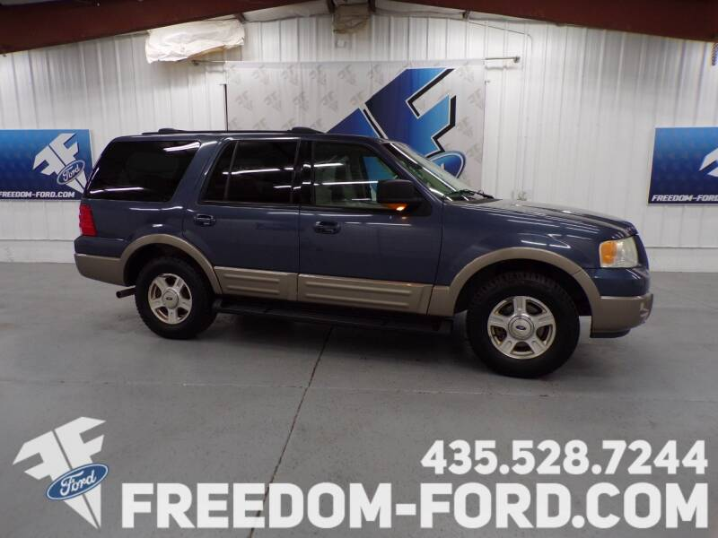 2003 Ford Expedition for sale at Freedom Ford Inc in Gunnison UT