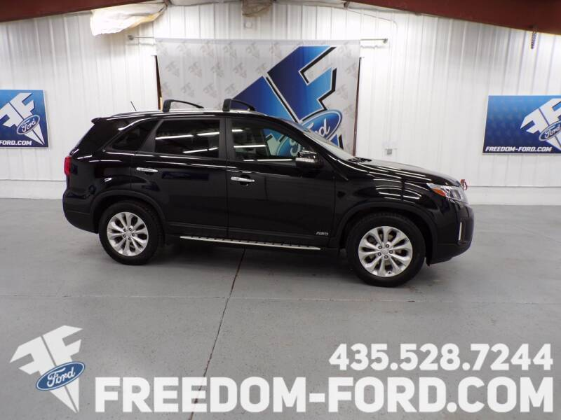 2014 Kia Sorento for sale at Freedom Ford Inc in Gunnison UT