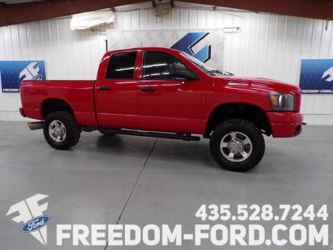 2008 Dodge Ram Pickup 2500 for sale at Freedom Ford Inc in Gunnison UT