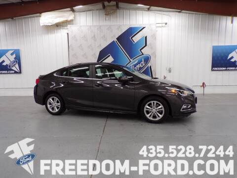 2017 Chevrolet Cruze for sale at Freedom Ford Inc in Gunnison UT