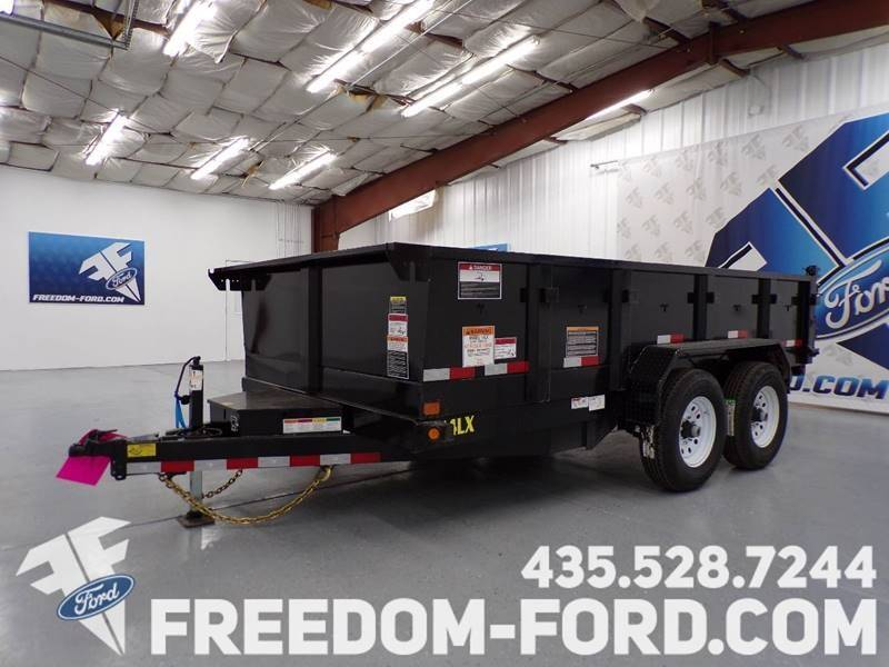 2021 Utility Trailer Big Tex 14LX - 14BK for sale at Freedom Ford Inc in Gunnison UT