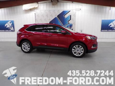 2020 Ford Edge for sale at Freedom Ford Inc in Gunnison UT