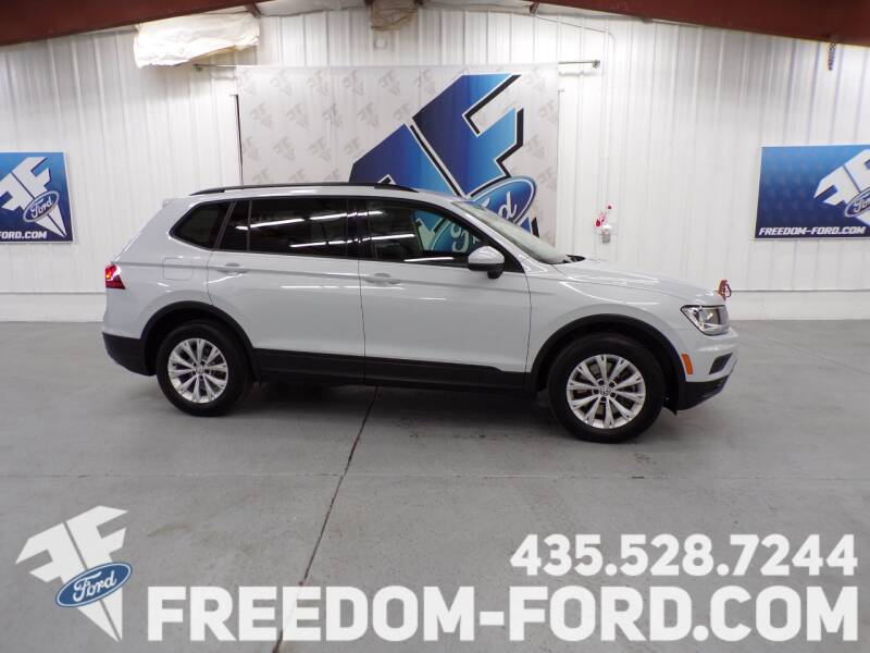 2018 Volkswagen Tiguan for sale at Freedom Ford Inc in Gunnison UT