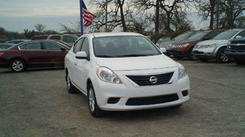 2014 Nissan Versa for sale at Global Vehicles,Inc in Irving TX