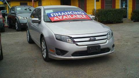 2012 Ford Fusion for sale at Global Vehicles,Inc in Irving TX