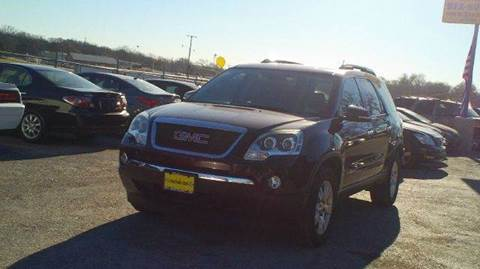 2008 GMC Acadia for sale at Global Vehicles,Inc in Irving TX