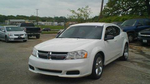 2013 Dodge Avenger for sale at Global Vehicles,Inc in Irving TX