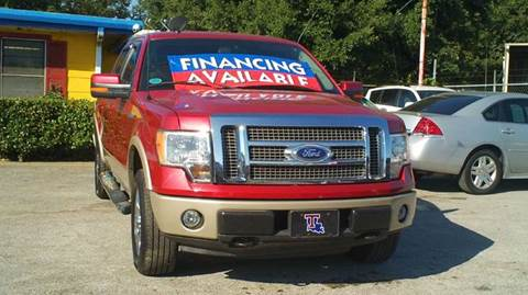 2010 Ford F-150 for sale at Global Vehicles,Inc in Irving TX