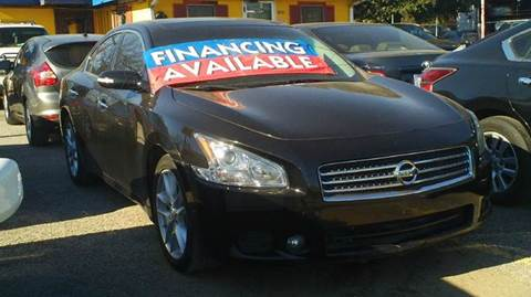 2009 Nissan Maxima for sale at Global Vehicles,Inc in Irving TX