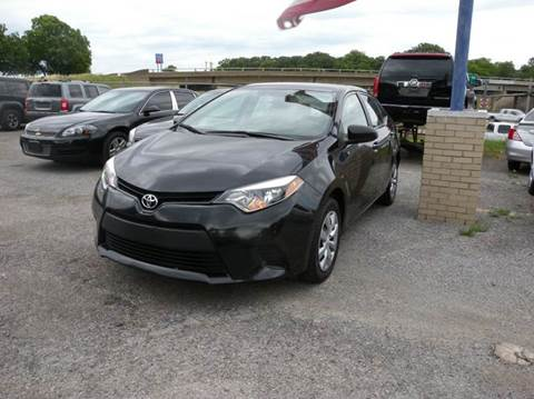 2014 Toyota Corolla for sale at Global Vehicles,Inc in Irving TX