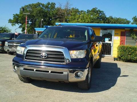 2007 Toyota Tundra for sale at Global Vehicles,Inc in Irving TX