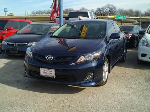 2011 Toyota Corolla for sale at Global Vehicles,Inc in Irving TX