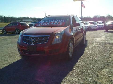 2010 Cadillac SRX for sale at Global Vehicles,Inc in Irving TX