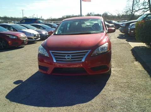 2014 Nissan Sentra for sale at Global Vehicles,Inc in Irving TX
