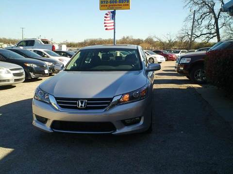 2014 Honda Accord for sale at Global Vehicles,Inc in Irving TX