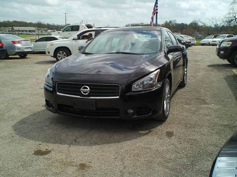 2011 Nissan Maxima for sale at Global Vehicles,Inc in Irving TX