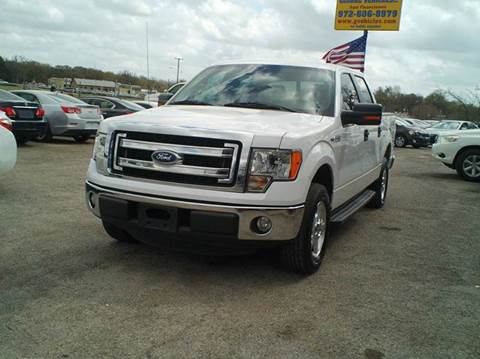 2013 Ford F-150 for sale at Global Vehicles,Inc in Irving TX