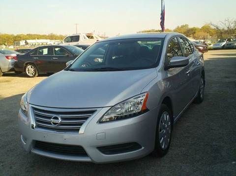 2013 Nissan Sentra for sale at Global Vehicles,Inc in Irving TX