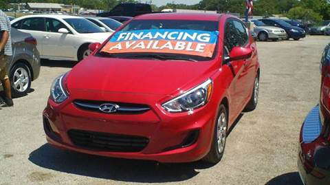 2017 Hyundai Accent for sale at Global Vehicles,Inc in Irving TX