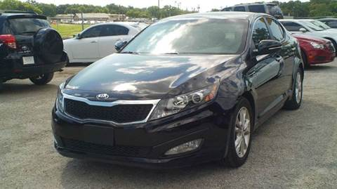 2013 Kia Optima for sale at Global Vehicles,Inc in Irving TX