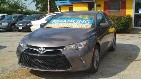 2017 Toyota Camry for sale at Global Vehicles,Inc in Irving TX