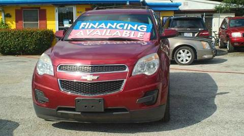 2012 Chevrolet Equinox for sale at Global Vehicles,Inc in Irving TX