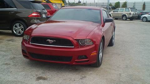 2014 Ford Mustang for sale at Global Vehicles,Inc in Irving TX