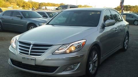 2013 Hyundai Genesis for sale at Global Vehicles,Inc in Irving TX