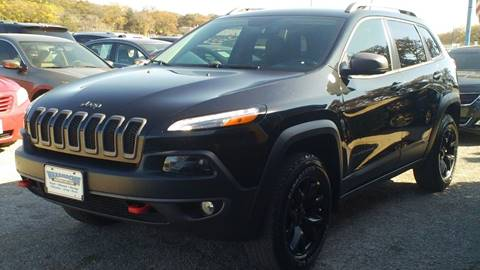 2015 Jeep Cherokee for sale at Global Vehicles,Inc in Irving TX