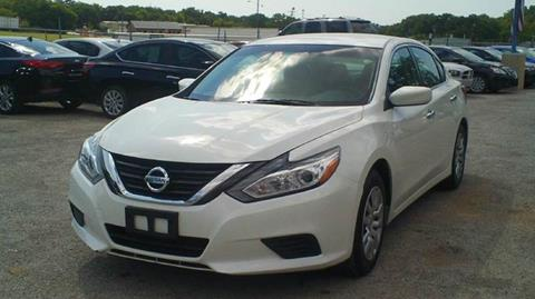 2016 Nissan Altima for sale at Global Vehicles,Inc in Irving TX
