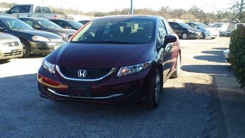2014 Honda Civic for sale at Global Vehicles,Inc in Irving TX