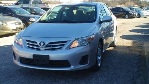 2013 Toyota Corolla for sale at Global Vehicles,Inc in Irving TX