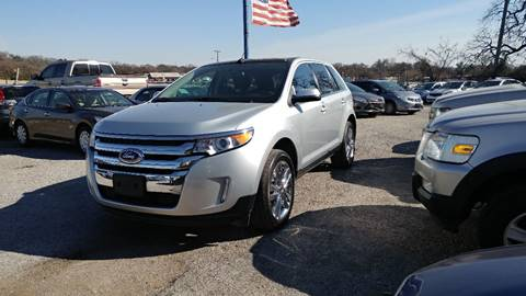 2013 Ford Edge for sale at Global Vehicles,Inc in Irving TX