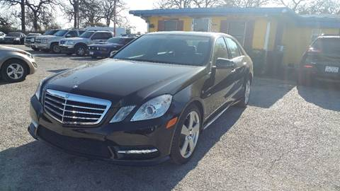 2012 Mercedes-Benz E-Class for sale at Global Vehicles,Inc in Irving TX