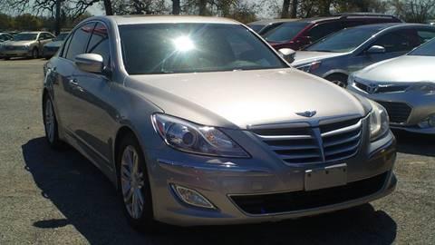2012 Hyundai Genesis for sale at Global Vehicles,Inc in Irving TX