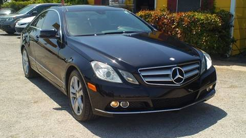 2011 Mercedes-Benz E-Class for sale at Global Vehicles,Inc in Irving TX