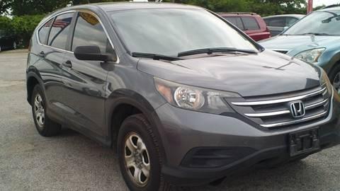 2013 Honda CR-V for sale at Global Vehicles,Inc in Irving TX
