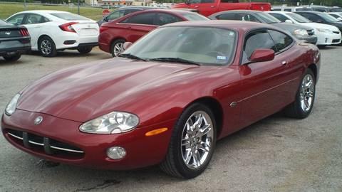 2001 Jaguar XK-Series for sale at Global Vehicles,Inc in Irving TX