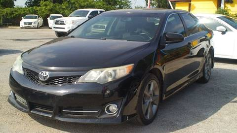 2012 Toyota Camry for sale at Global Vehicles,Inc in Irving TX