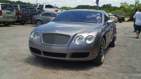2005 Bentley Continental for sale at Global Vehicles,Inc in Irving TX