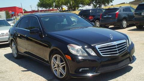 2010 Mercedes-Benz E-Class for sale at Global Vehicles,Inc in Irving TX