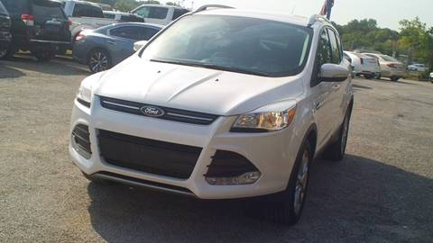 2016 Ford Escape for sale at Global Vehicles,Inc in Irving TX