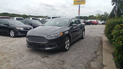 2016 Ford Fusion for sale at Global Vehicles,Inc in Irving TX