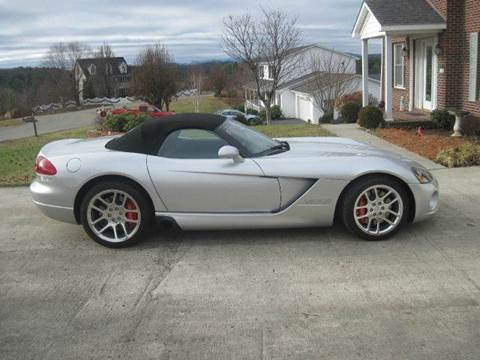 2004 Dodge Viper for sale at CUMMINGS AUTO SALES in Galax VA