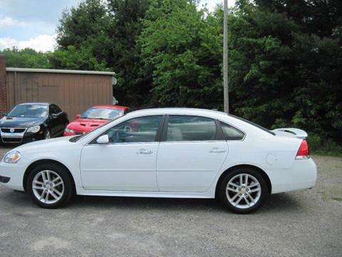 2013 Chevrolet Impala for sale at CUMMINGS AUTO SALES in Galax VA