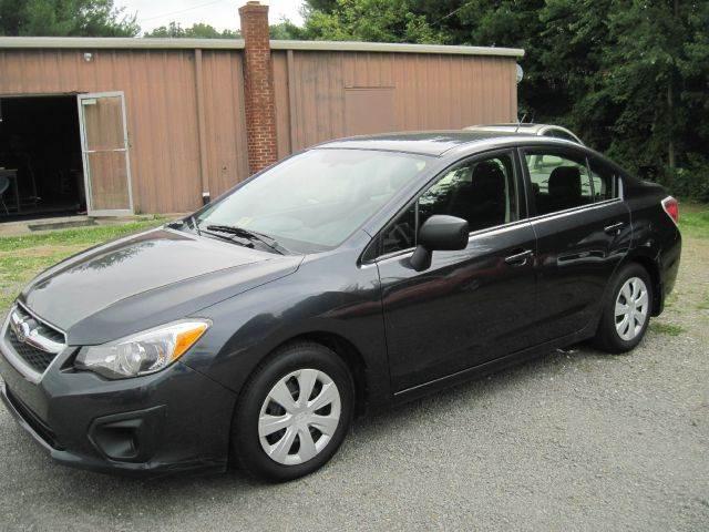 2013 Subaru Impreza for sale at CUMMINGS AUTO SALES in Galax VA