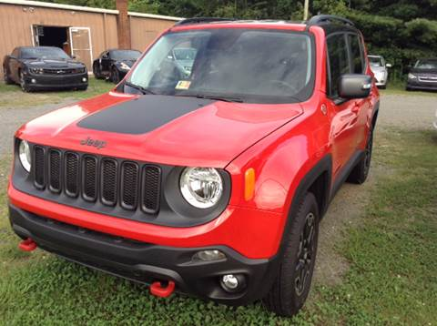 2016 Jeep Renegade for sale at CUMMINGS AUTO SALES in Galax VA