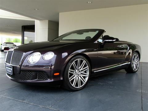 2014 Bentley Continental GT Speed for sale in Marietta, GA