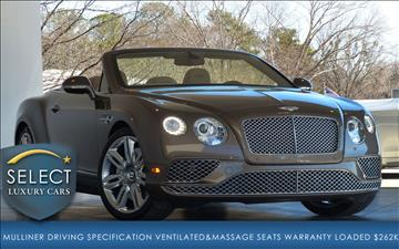 2017 Bentley Continental GTC for sale in Marietta, GA