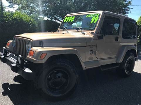 1999 Jeep Wrangler for sale in Wilmington, NC